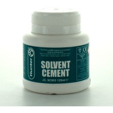 Hunter SC953 125ml Solvent Cement BS6209 For PVC