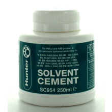 Hunter SC954 250ml Solvent Cement BS6209 For PVC
