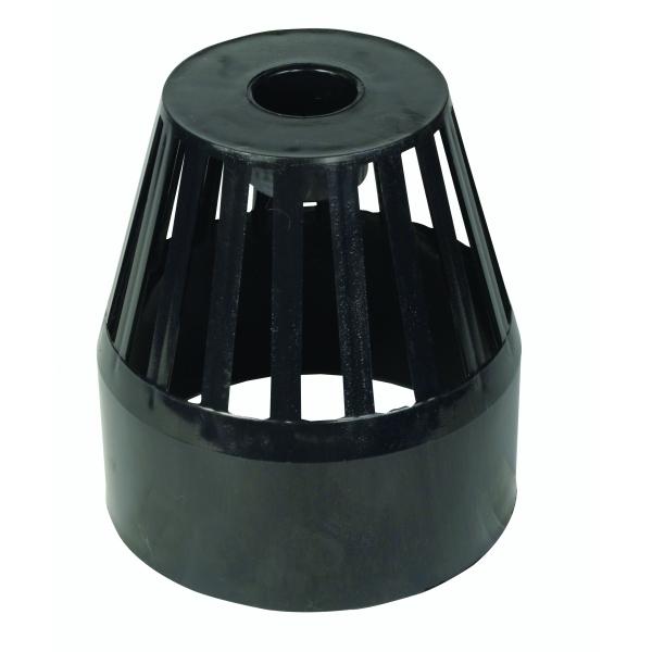 Hunter soil s355 110mm vent cowl white for 80mm soil vent pipe