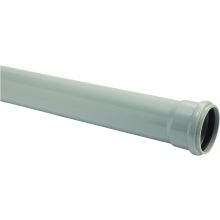 Hunter Soil S508 110mm Soil Pipe 3mtr SS Black