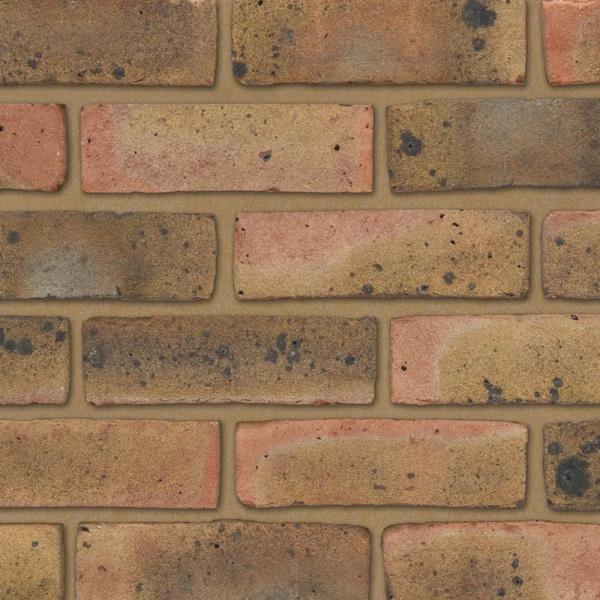 Ibstock 65mm Coleridge Yellow Multi Brick Buildbase