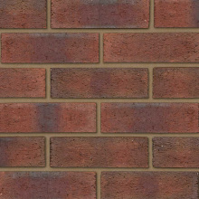 Ibstock 65mm New Burntwood Red Rustic Brick