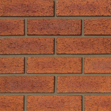Ibstock 65mm Ravenhead Hearted Red Rustic Brick