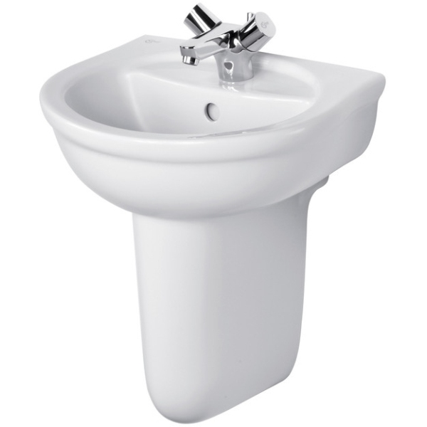 Ideal Standard Alto 45cm Hand Rinse Basin One Taphole