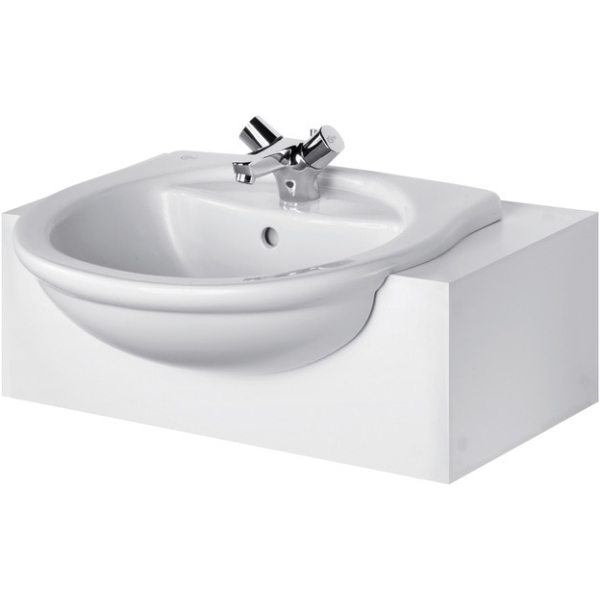 Ideal Standard Alto 55cm Semi Countertop Basin One Taphole