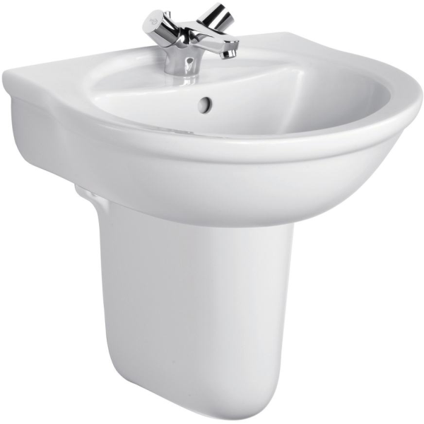 Ideal Standard Alto Semi Pedestal for 55cm or 60cm Basins