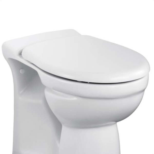Ideal Standard Alto Toilet Seat & Cover with Stainless Steel Hinges White