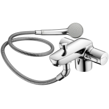 Ideal Standard Ceramix Blue Thermostatic One Taphole Dual Control Bath Shower Mixer