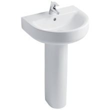 Ideal Standard Concept Arc 55cm Basin to be used with a Pedestal or Furniture One Taphole