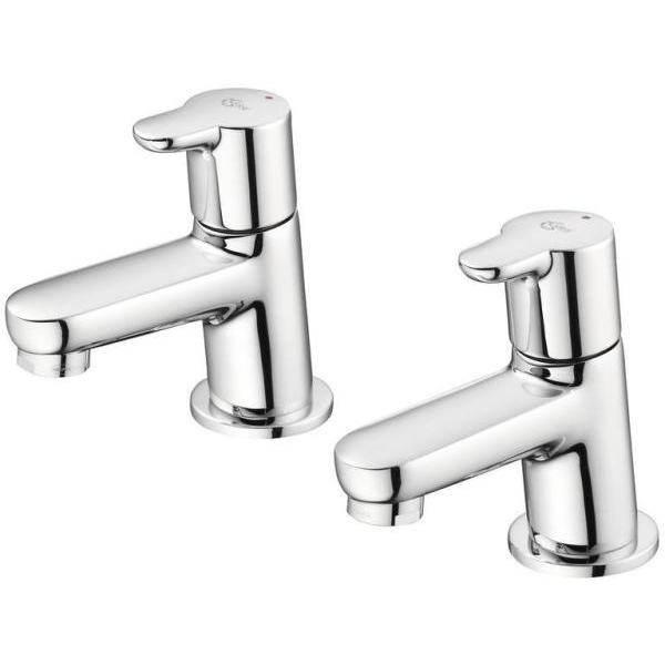 Ideal Standard Concept Bath Pillar Taps