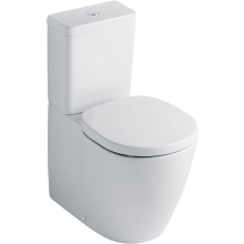Ideal Standard Concept Cube Close Coupled Cistern With Dual Flush Valve 6 or 4 Litre Flush