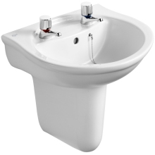 Ideal Standard Concept Semi Pedestal For 40, 45, or 50cm Basins