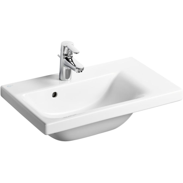 Ideal Standard Concept Space Furniture or Pedestal Basin 600 Right Hand