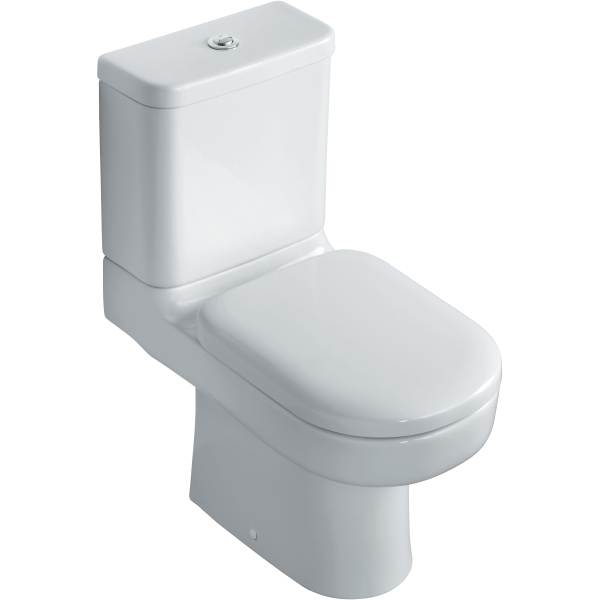 Ideal Standard Playa Close Coupled WC Pan HO White