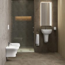 Compact Bathroom Suite