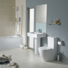 Ideal Concept Cube Bathroom Suite
