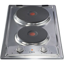 HCE340SS 2 plate electric hob