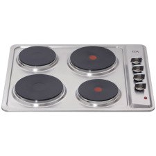 HE6050SS 4 plate electric hob