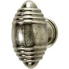 Beehive Pewter Effect Knob