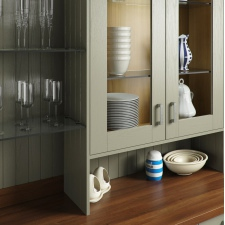 Painted Sage Grey Wood Shaker