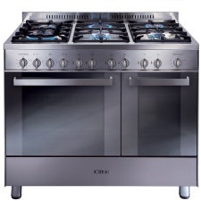 RC9322SS 90cm twin cavity gas range cooker