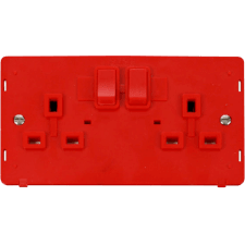 Red Screwless Insert Plates