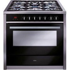 RV911SS 90cm single cavity dual fuel range cooker