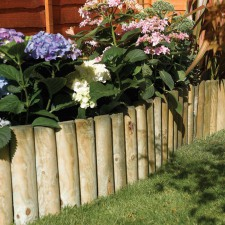 Timber Garden Edging