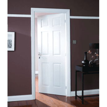 6 Panel Grained Doors