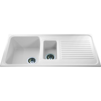 AS2WH Inset asterite 1.5 bowl sink - Buildbase