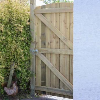Timber Garden Gates Buildbase