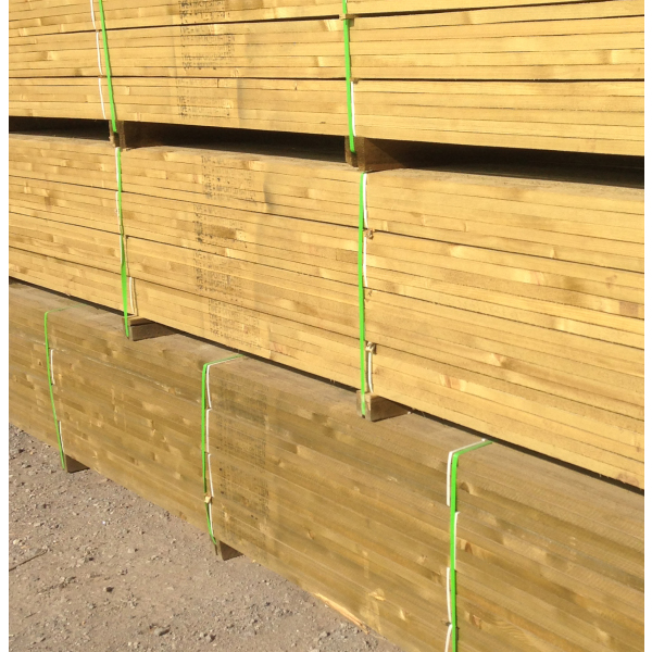 Imp Stamped Treated Timber Lath/Batten 25 x 38mm x 6.0m