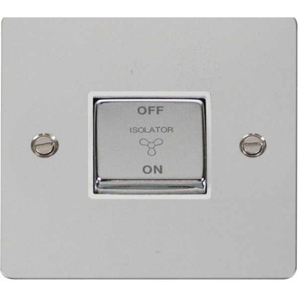 Click FPCH520WH Ingot 10A 3 Pole Fan Isolation Switch