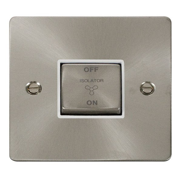Click FPBS520WH Ingot 10A 3 Pole Fan Isolation Switch
