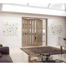 Jeld Wen Internal Aston Wh Oak Clear Glazed 3+0 2157mm PEFC