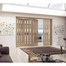 Jeld Wen Internal Aston Wh Oak Clear Glazed 3+1 2545mm PEFC