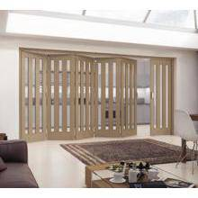 Jeld Wen Internal Aston Wh Oak Clear Glazed 5+1 3771mm PEFC