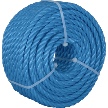 Kendon Polypropylene Mini Coil Rope Blue 10mm x 30m