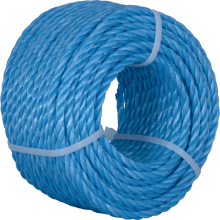 Kendon Polypropylene Mini Coil Rope Blue 6mm x 30m