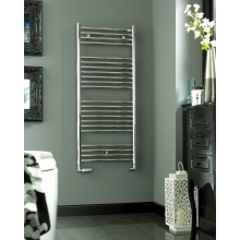 Klaro Heated Towel Warmer 1148 x 600mm Chrome