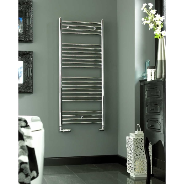 Klaro Heated Towel Warmer 1708 x 600mm Chrome