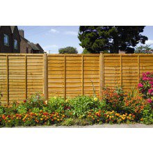 Grange High Lap Fence Panel 1.83x1.8m FSC