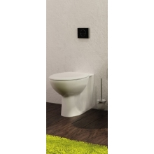 Lecico Atlas Back To The Wall Pan White