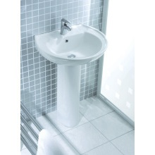 Lecico Atlas Basin 550mm 1 Taphole White