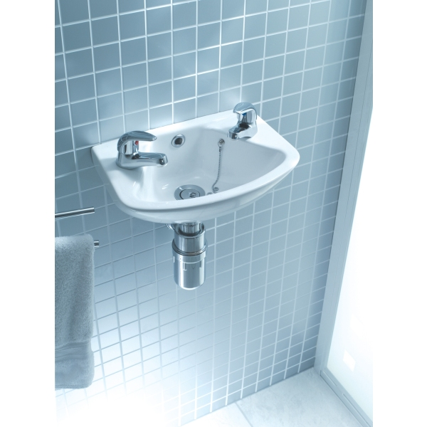 Lecico Atlas Cloakroom 360mm Basin 2 Tap Hole