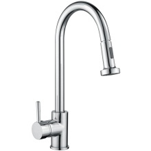 Madrid Pull Out Side Lever Kitchen Sink Mixer