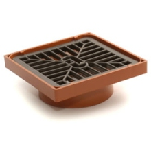 Marley 110mm Gully Grate Assembly