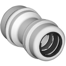 Marley Equator Straight Connector 22mm