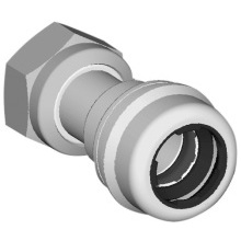 Marley Equator Straight Tap Connector 15mm x 1/2""