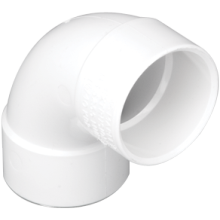 Marley MuPVC Bend 40mm 88.5 Degree White